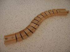 Largo Bendy Crazy Pista Para Tren De Madera Brio Thomas Set () ~ Nuevo S