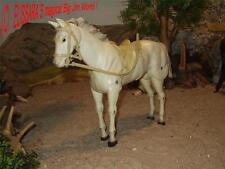 Lone Ranger Pferd - Schimmel SILVER  - Marx Toys - Big Jim /  Cavallo / Cheval