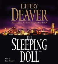 THE SLEEPING DOLL by JEFFREY DEAVER ON 5 CD'S (AUDIO BOOK)