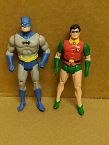 "1984 Kenner Super Powers BATMAN & ROBIN 3-3/4"" figures LOT OF 2"