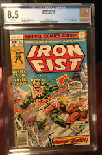 Iron Fist #14 CGC 8.5 White Pages Marvel 8/77 1st Sabertooth