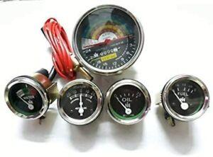 IH Farmall Tractor 460,560 2200 RPM Tachometer+ Temp+ Oil Pressure(0-75) +Ampere