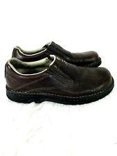 Merrell World Legend Stollen Loafer Shoes size 8.5 Brown Leather Slip On J45051