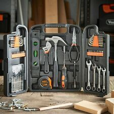 Household Tool Kit Box Hand Tools Set Heavy Duty Screwdrivers Spanner Repair DIY