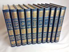 MARK TWAIN  CLASSICAL WORKS, 10 Volume Lot, EASTON PRESS