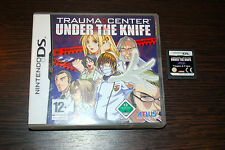 Jeu TRAUMA CENTER UNDER THE KNIFE pour Nintendo DS (sans notice)
