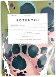Katie Leamon Notebook Patterned Cover Blank Pages 120gsm Smooth Ivory Paper
