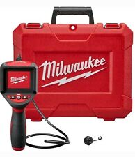 New Milwaukee M-Spector 3 ft. Inspection Scope Diagnostic Camera 9mm Led W/Case