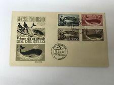 Fernando Poo Spain Whales FDC 1960      (Folder 4001)