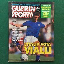 GUERIN SPORTIVO n.25/1987 COPPA ITALIA TRIONFO DEL NAPOLI SERIE C A COLORI