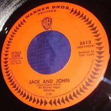 MB645 Petula Clark Jack And John / I Know A Place 45 RPM Record