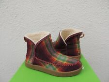SANUK NICE BOOTAH VINTAGE RAINBOW FAUX FUR LINED BOOTS, WOMEN SIZE US 7/ 38 ~NEW