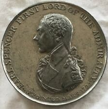 1795 Naval Admiral Lord Spencer Medal Token Coin