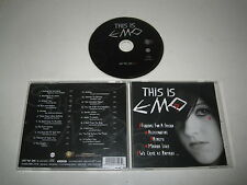 VARIOS ARTISTAS/THIS IS EMO(ZAX/GRC 55023-2)CD ÁLBUM