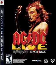 AC/DC Live: Rock Band Track Pack For PlayStation 3 PS3 Music Very Good 2E