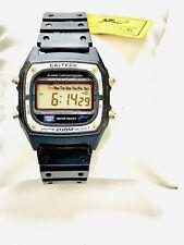 Vintage Calteck Alarm Chronograph LCD Digital Men's Wrist Watch(20510M)