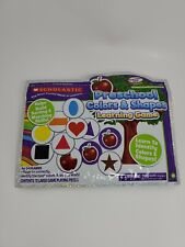 New Scholastic Preschool Colors and Shapes Learning Game Build Sort Skills Bag