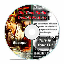 This Is Your FBI & ESCAPE, 646 shows, FULL RUN SET, Old Time Radio OTR DVD F69