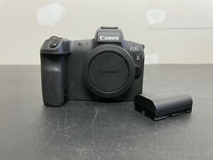 Canon EOS R 30.3MP Digital Camera - Black (Body Only) - EXCELLENT CONDITION