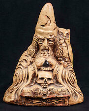 Matchless Grove Orion Clay Wizard Warlock Candle Holder Cristoble 1981 S-10