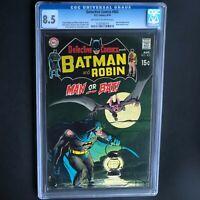 DETECTIVE COMICS #402 (DC 1970) 💥 CGC 8.5 OW-W 💥 Man-Bat App! Neal Adams Cvr