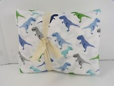 Pottery Barn Kids Organic Warren Dinosaur Sheet Set Twin Multi Color #7089
