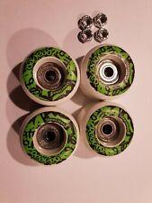4 x Skateboard Rollen mit Kugellager 50 x 36 mm 92A