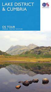 Tour  Lake District & Cumbria (OS Tour Map) by Ordnance Survey