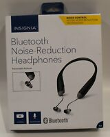 Bluetooth Earphones with mic Insignia NS-CAHBTEBNC-B –Black