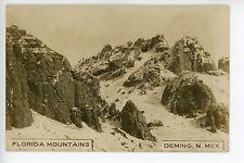 Florida Mountains DEMING NM Antique Photo RPPC ca. 1910
