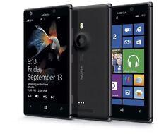 Nokia Lumia 925 Windows 8 **Unlocked** Black- Smartphone 4G 8.7MP **16GB**