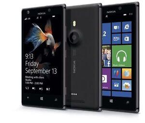 Nokia Lumia 925 Windows 8 **Unlocked** Black- Smartphone 4G 8.0MP **16GB**