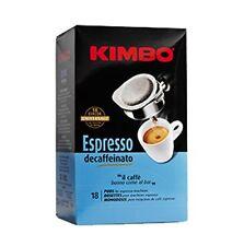 90 CIALDE CAFFE' KIMBO IN FILOCARTA ESE 44 MM MISCELA ESPRESSO DECAFFEINATO