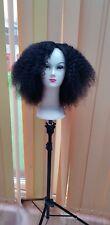 Afro kinky brazilian  human hair wig