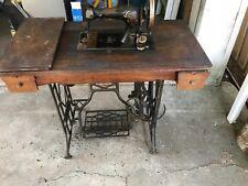 1800s Gritzner sewing machine in cabinet - rare - genuine antique