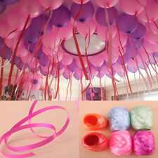 6Pcs Wholesale Balloons Ribbon Wedding Gift Party Decor Accessorie Curling Tapes