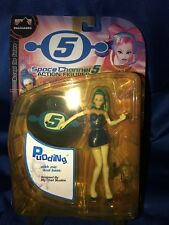 SPACE CHANNEL 5 Action Figure PUDDING Palisades SEGA DREAMCAST 2001 NEW SEALED