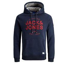 Jack&Jones Hombre Sudadera Jersey Cuello Capucha slim fit 22526