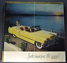 1955 Cadillac VIP Brochure DeVille Eldorado Series 60 62 75 Original 55