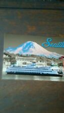 TODAY L@@king WASHINGTON STATE FERRY POST CARD SEATTLE WASHINGTON STATE FERRIES