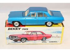 Dinky Toys 513 Opel Admiral blue mint in box and box with dealer tag Superb