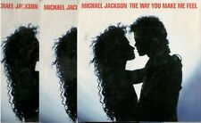 Michael Jackson,The Way You Make Me Feel (& Instrumental) 45, 3 Copies for $6.99