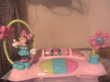 New listing Kids Ii Minnie Mouse Battery Operated Musical & Lights Up Toy ~For Babies