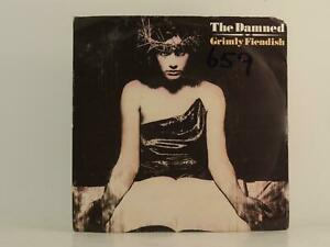 """THE DAMNED GRIMLY FIENDISH (83) 2 Track 7"""" Single Picture Sleeve MCA RECORDS"""