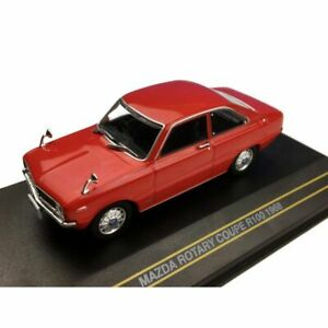 FIRST 43 1968 MAZDA ROTARY COUPE R100 1:43 SCALE RED
