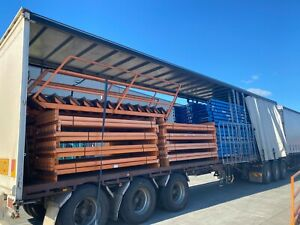Dexion/Australian Pallet Racking Beams 2743mm x 83mm x 50mm -SWL 2000kg per pair