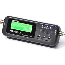 Genuine Sathero SH-100HD DVB-S/S2 Digital Satellite Signal Meter Finder HD