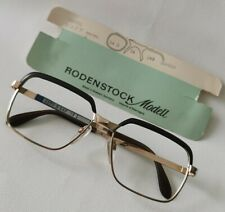 Vintage RODENSTOCK Frame/SUNGLASSES Correl Authentic Retired Yellow Gold 10K
