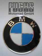 Original BMW Tank Emblem Plakette 82mm R65GS R80GS R100GS emblema bage genuine