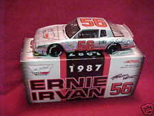 1987 ERNIE IRVAN #56 DALE EARNHARDT 1/24 CLEAR WINDOW ACTION CAR
